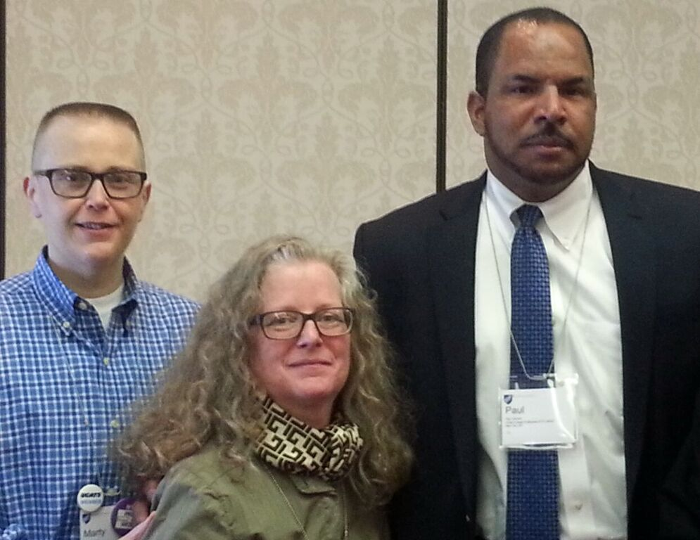 2016 AFT Paraprofessionals & School Related Personnel/Higher Ed Conference-Marty Correia, Kate Conroy, Dr. Paul